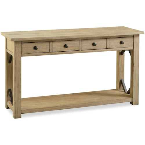 Legends Furniture Hideaway Transitional Sofa Table