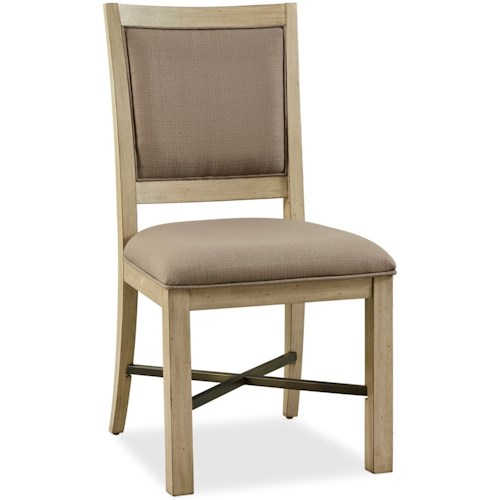 Legends Furniture Hideaway Upholstered Side Chair