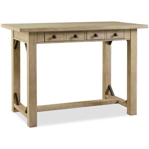Legends Furniture Hideaway Transitional Counter Height Table