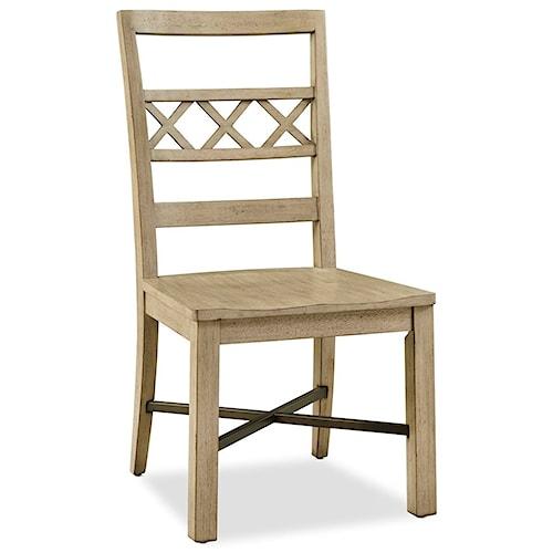 Legends Furniture Hideaway Wood Side Chair