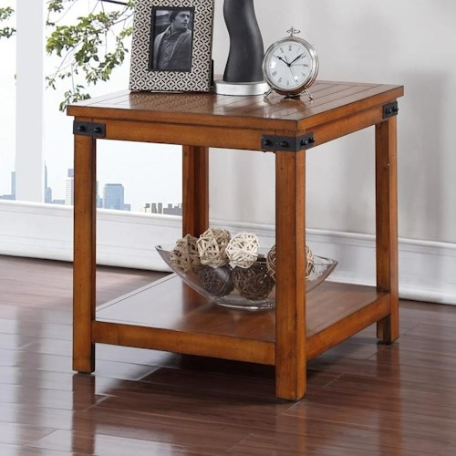 Legends Furniture Industrial Collection Industrial End Table
