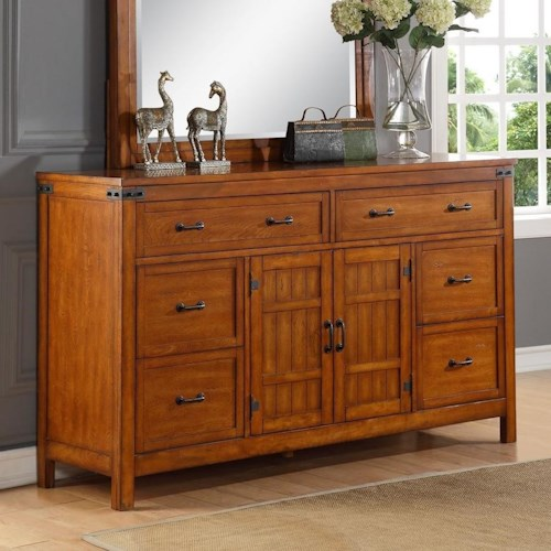 Legends Furniture Industrial Collection Industrial Dresser