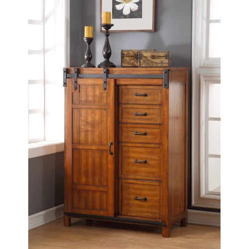 Legends Furniture Industrial Collection Industrial Chest