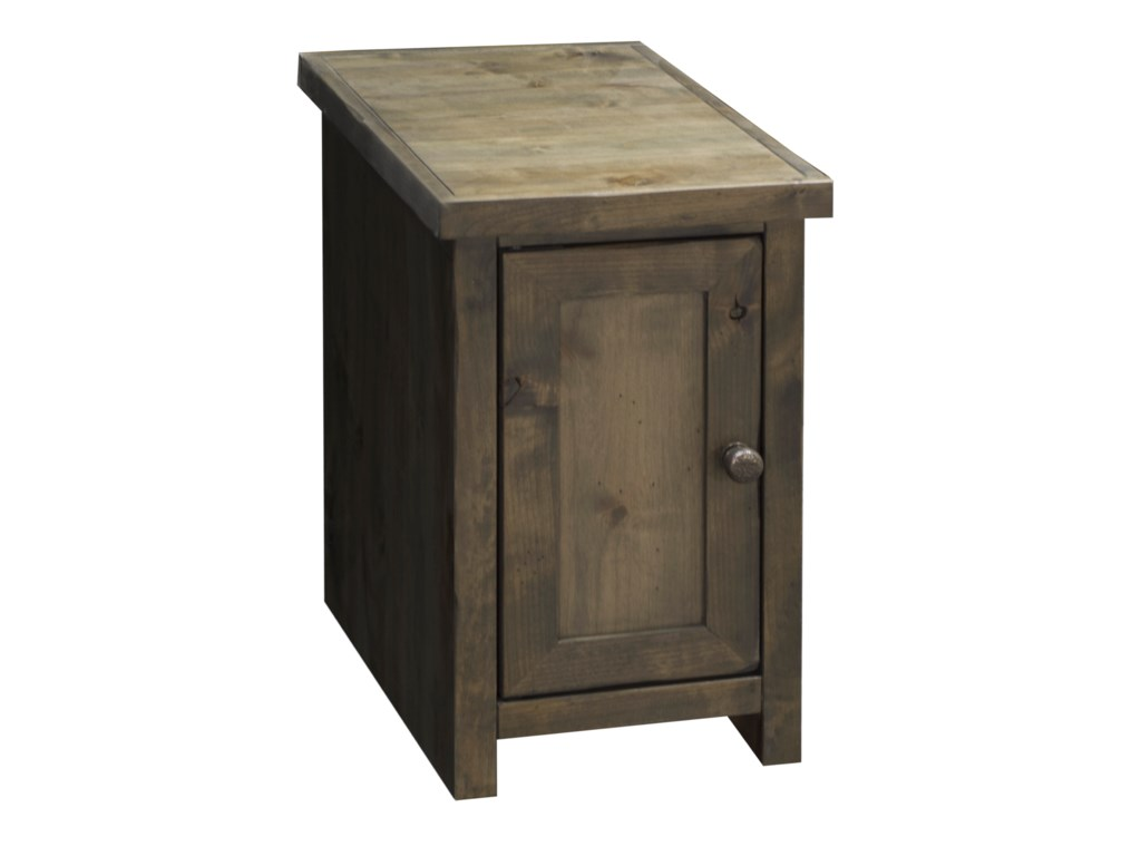 Legends Furniture Joshua CreekJoshua Creek Chair Side Table with Door