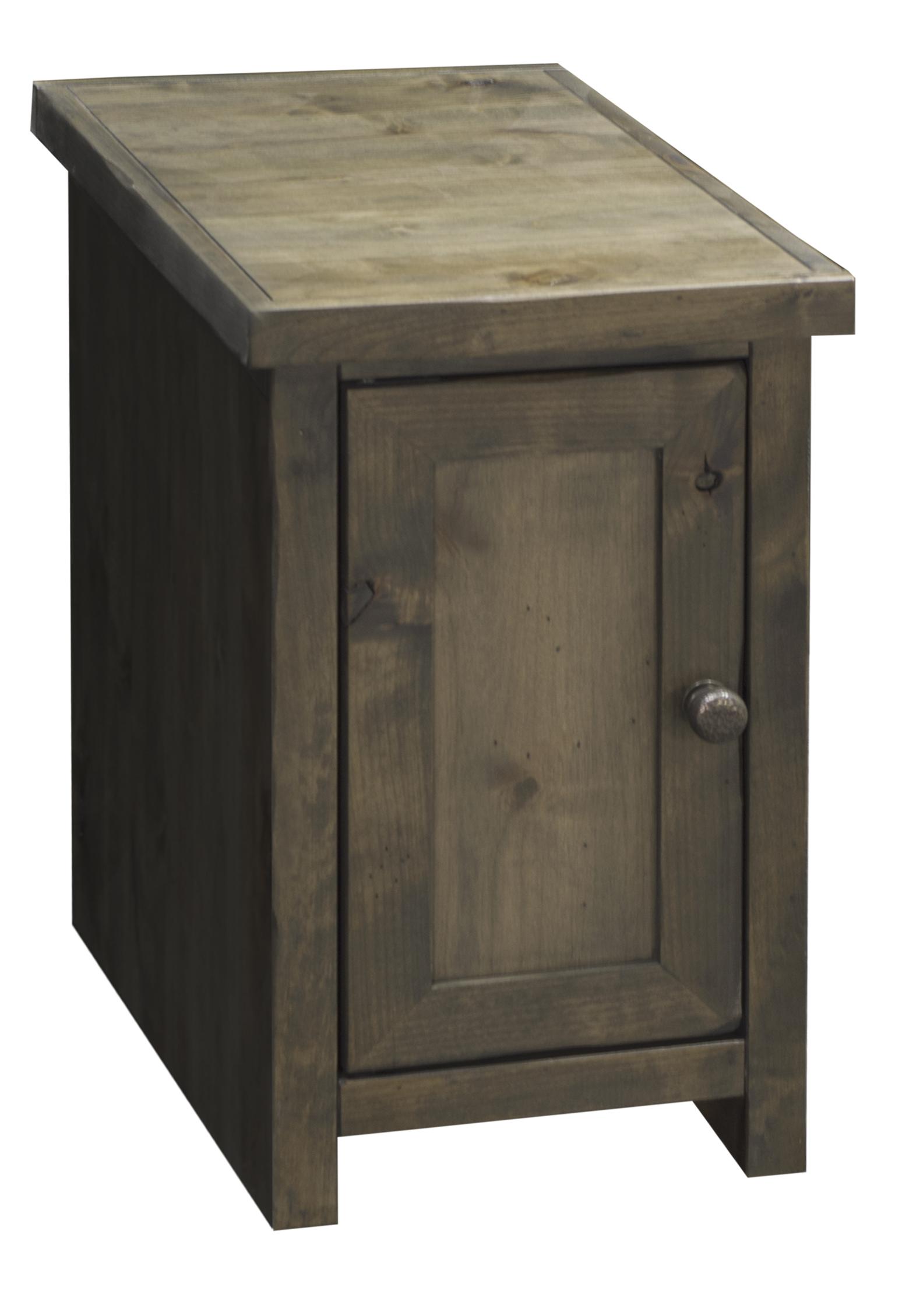Joshua Creek Joshua Creek Chair Side Table With Door By Legends Furniture