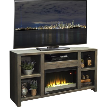 "63"" Fireplace Console"