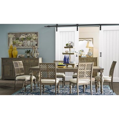 Legends Furniture Laurel Grove Casual Dining Room Group