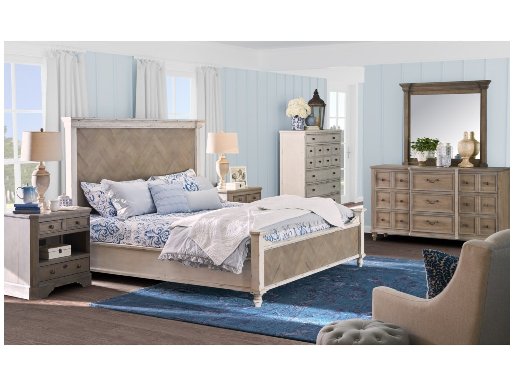 Legends Furniture Laurel GroveKing Bedroom Group
