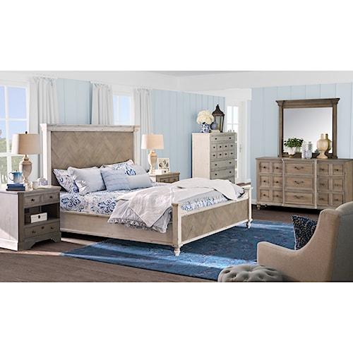 Legends Furniture Laurel Grove Queen Bedroom Group