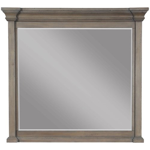 Legends Furniture Laurel Grove Landscape Mirror