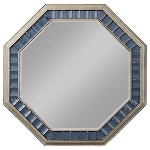 Legends Furniture Laurel Grove Octagon Mirror