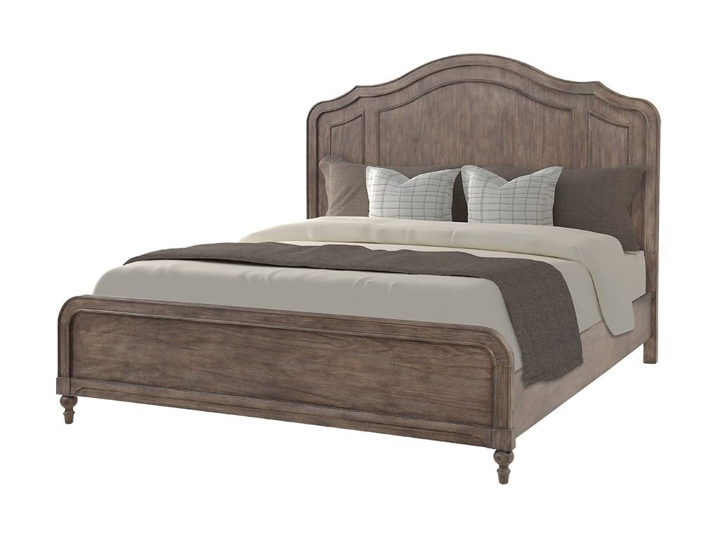 Legends Furniture MiddletonKing Shaped Panel Bed