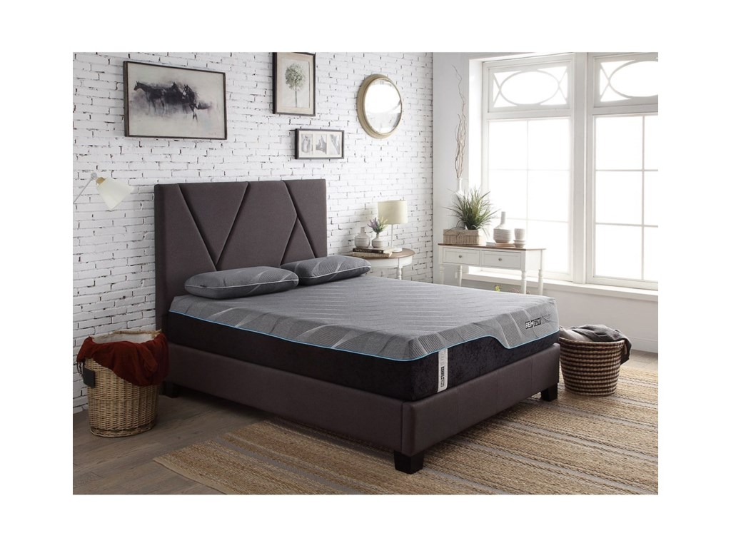 Modern Beds Contemporary Queen Upholstered Bed by Legends Furniture at  VanDrie Home Furnishings