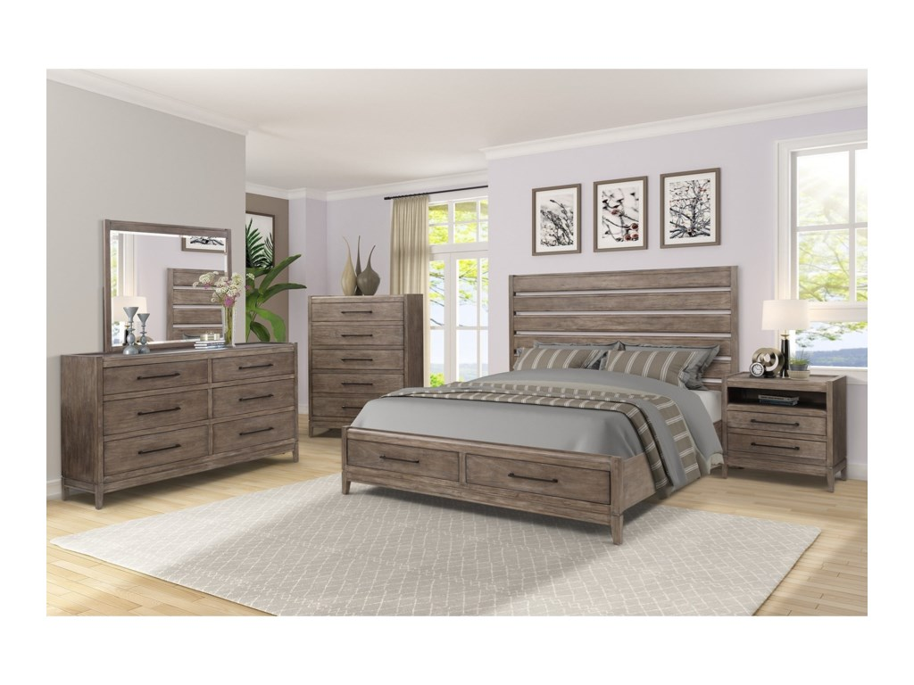 Legends Furniture Montrose6-Drawer Dresser