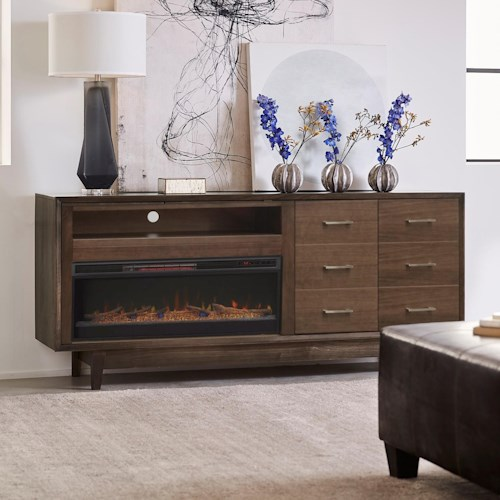 Legends Furniture Newport Contemporary 6 Drawer 84