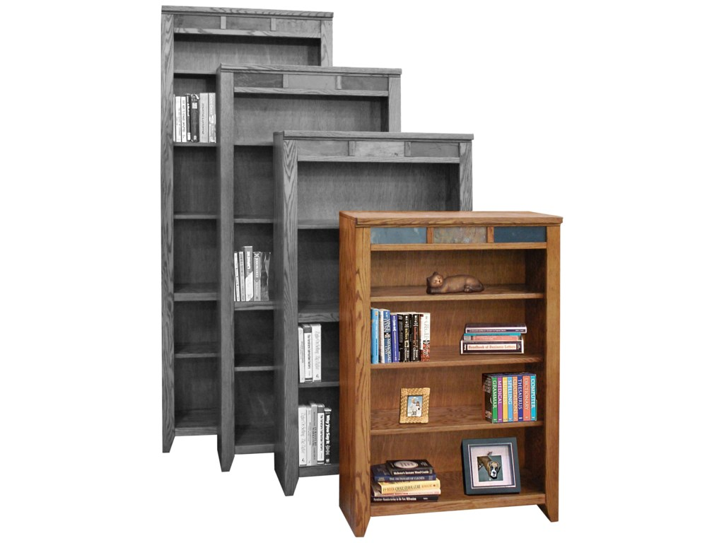 Legends Furniture Oak Creek 48 Bookcase With Four Shelves Turk