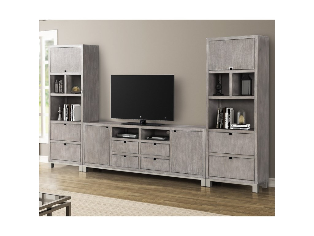 Legends Furniture Pacific HeightsEntertainment Wall Unit