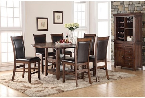 Legends Furniture Restoration Formal Dining Room Group