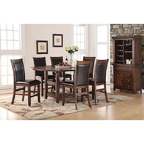 Legends Furniture Restoration Formal Dining Room Group