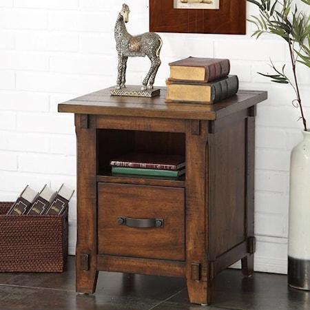Restoration Rolling File Cabinet
