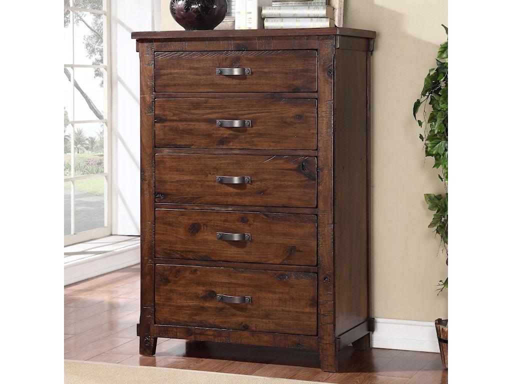 Legends Furniture Restoration Zrst 7016 Rustic Restoration 5 Drawer