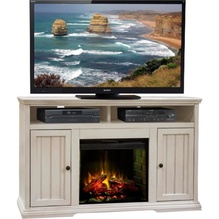 "59"" Fireplace Console"
