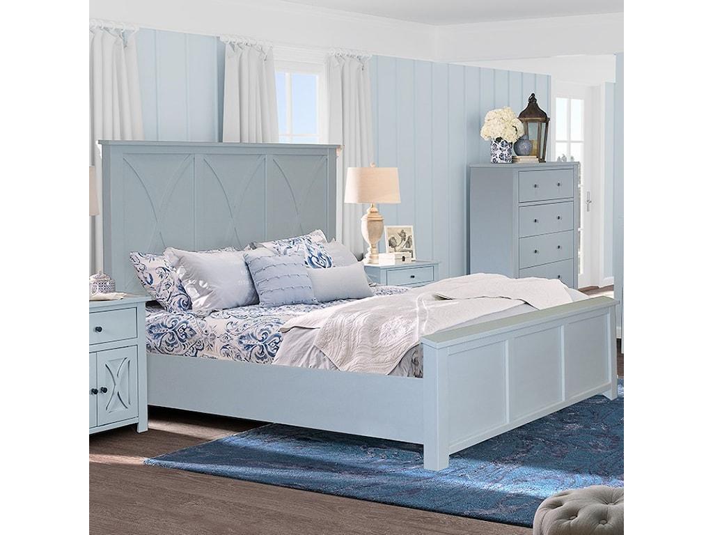 Legends Furniture SalinasQueen Bed