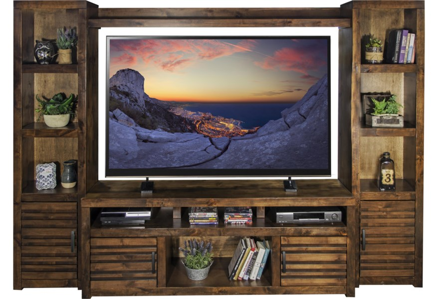 Legends Furniture Sausalito Casual Entertainment Wall With
