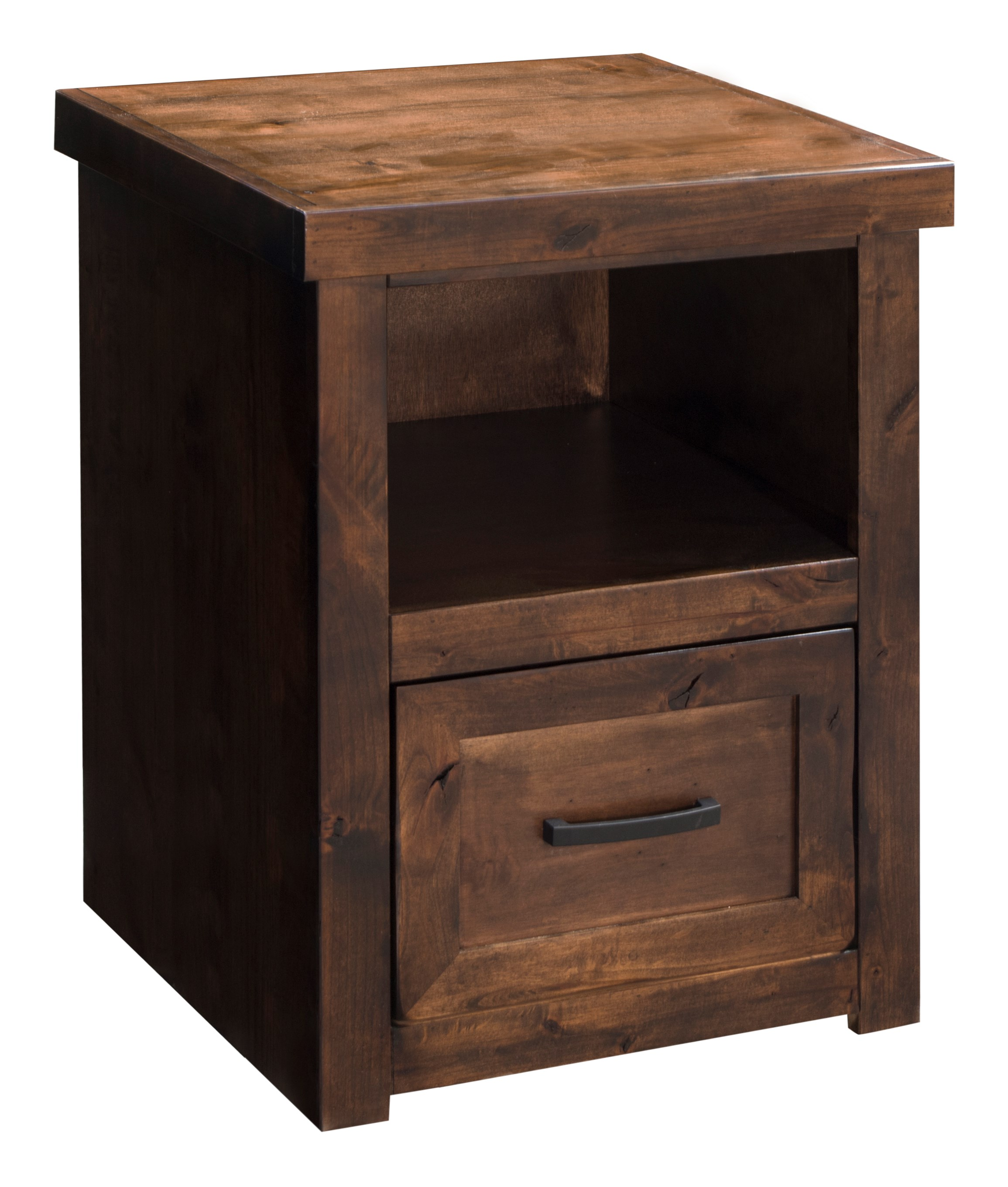 Legends Furniture Sausalito One Drawer File Cabinet In A Whiskey Finish