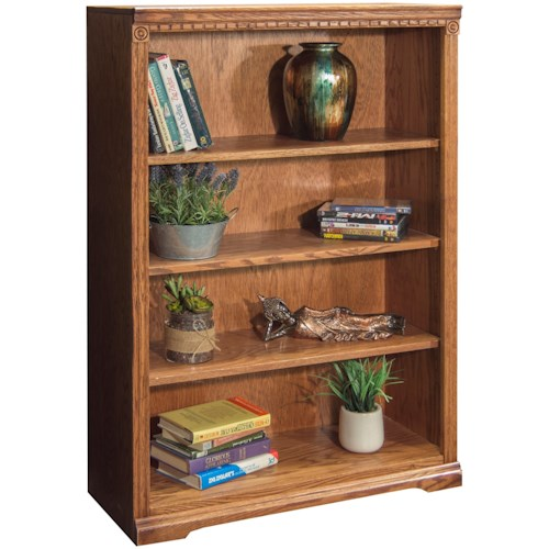 Legends Furniture Scottsdale Bookcase with Three Adjustable Shelves