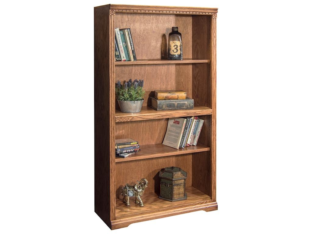 Legends Furniture ScottsdaleBookcase with 1 Fixed & 2 adj. Shelves
