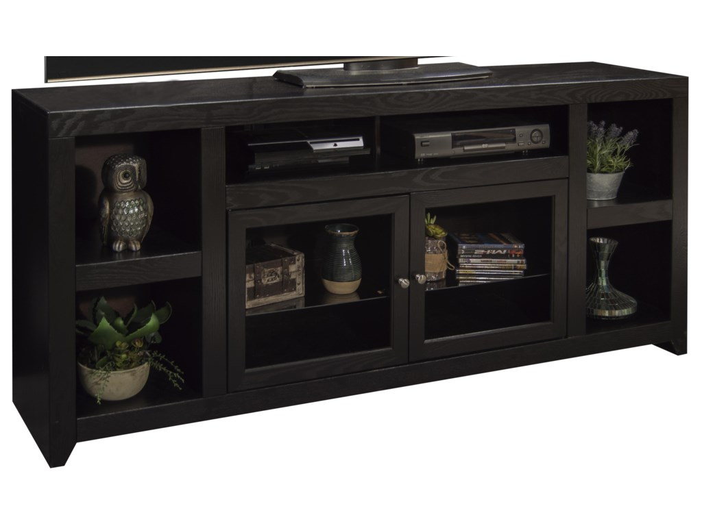 distressed legends furniture charcoal in cupboard bookcase entertainment pier finish side avondale