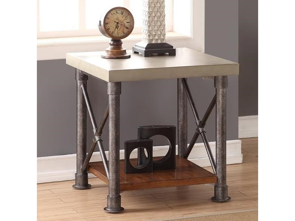 Legends Furniture Steampunk CollectionSteampunk End Table