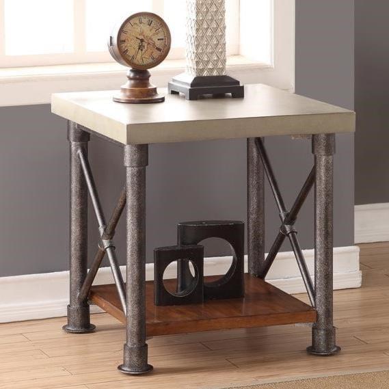 steam punk furniture. Legends Furniture Steampunk Collection End Table With Shelf Steam Punk .
