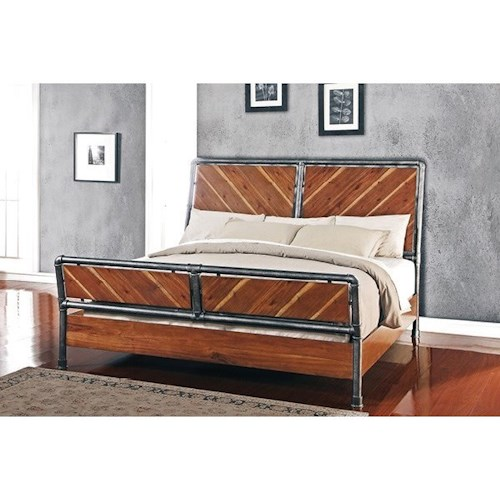 Legends Furniture Steampunk Collection Queen Bed
