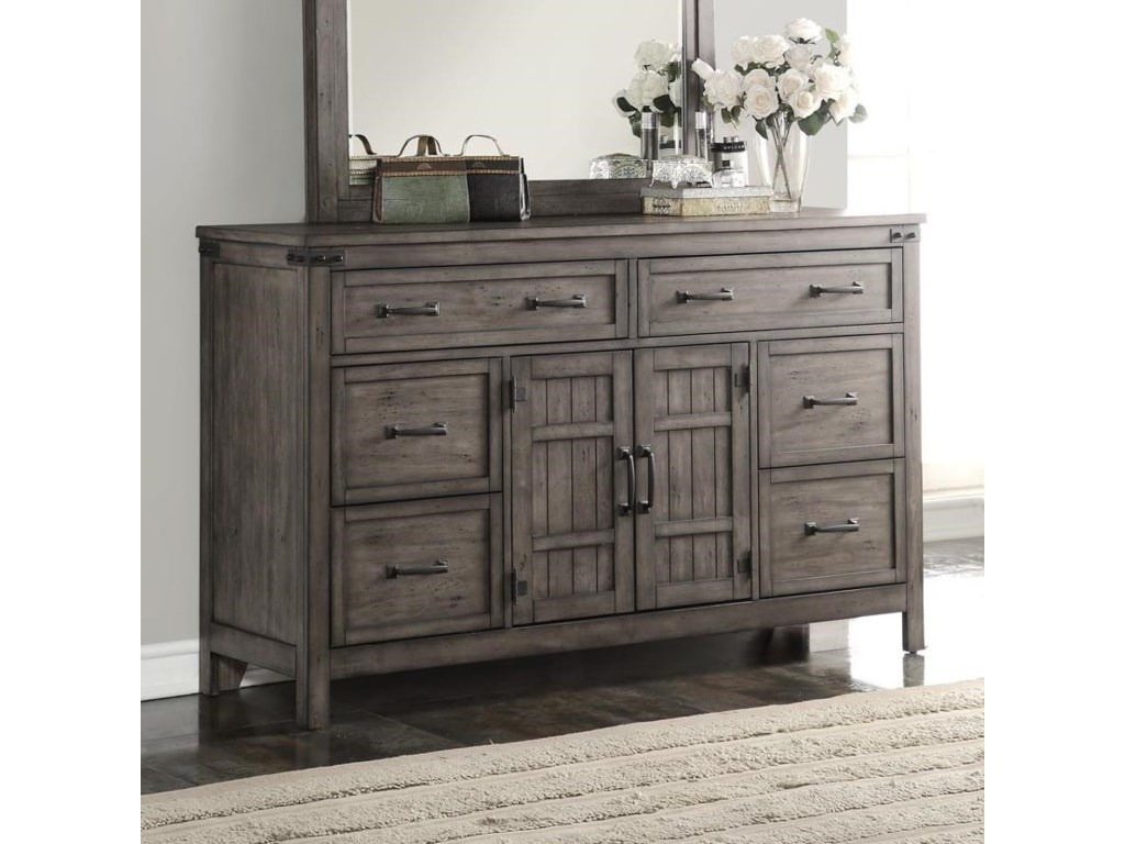 Legends Furniture Storehouse CollectionStorehouse 6 Drawer Dresser