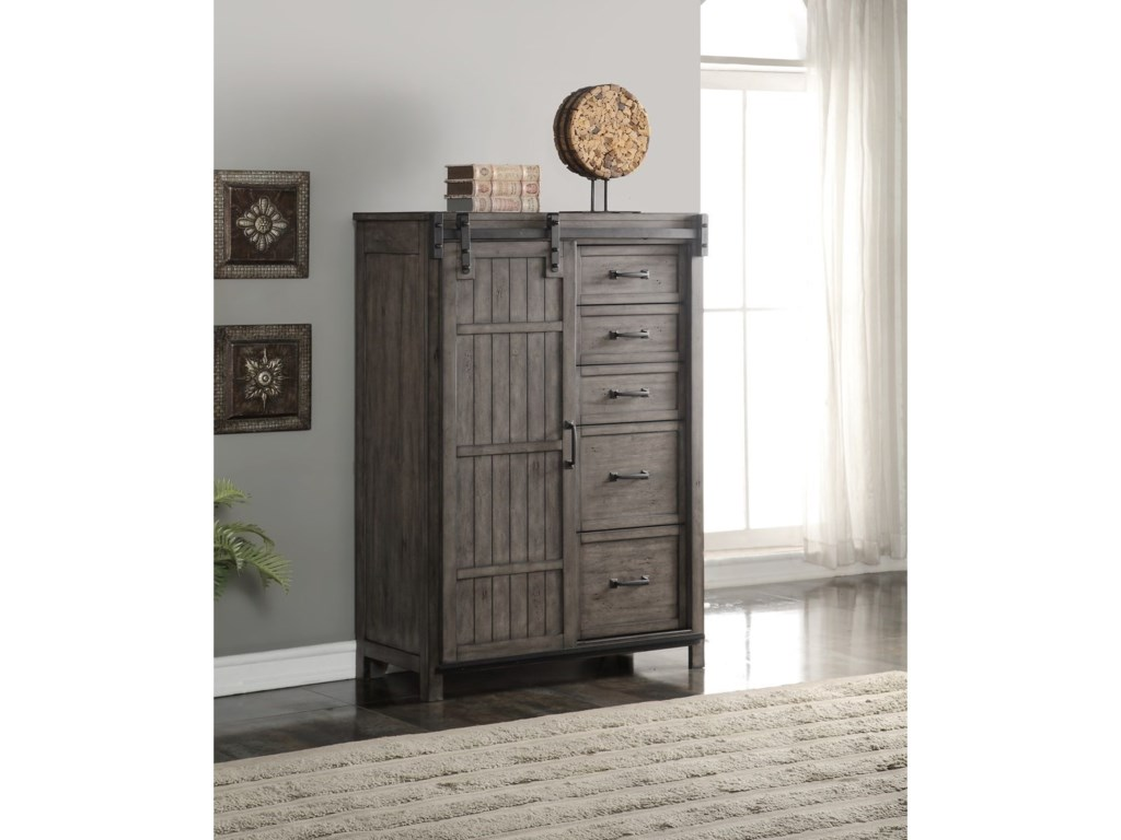 Vendor 1356 Storehouse CollectionStorehouse 5 Drawer Chest