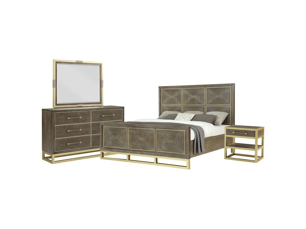 Legends Furniture TangoQueen Panel Bed