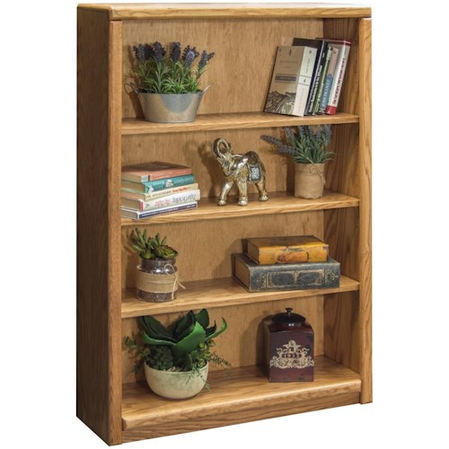 Legends Furniture Contemporary - Value Groups Bookcase With Three Adjustable Shelves