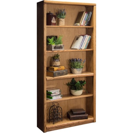 Bookcase With 1 Fixed & 3 adj. Shelves