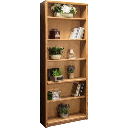 Bookcase With 1 Fixed & 4 adj. Shelves