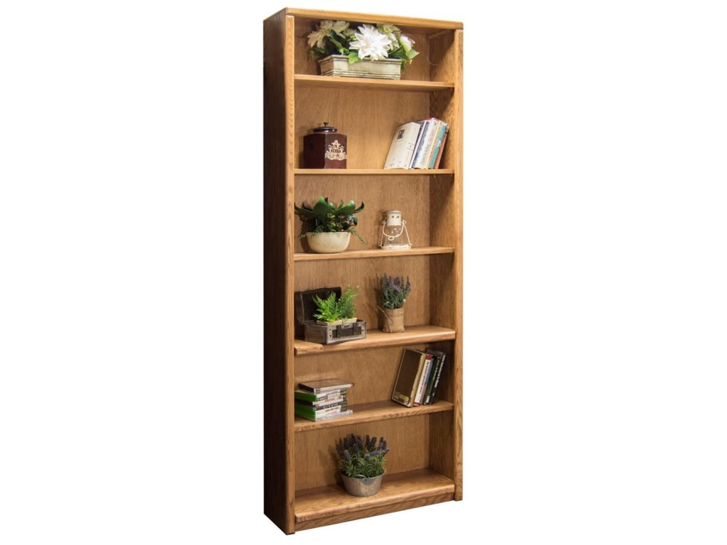 Legends Furniture Contemporary - Value GroupsBookcase With 1 Fixed & 4 adj. Shelves