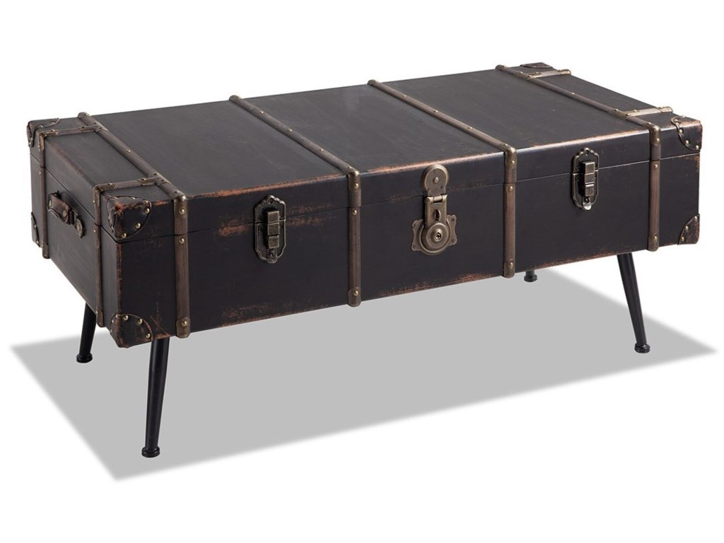 Ventura Trunk Coffee Table With Storage By Legends Furniture At Reeds