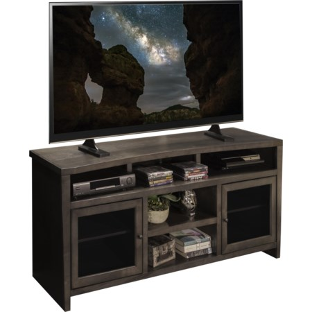 """Curved 68"""" TV Console"""