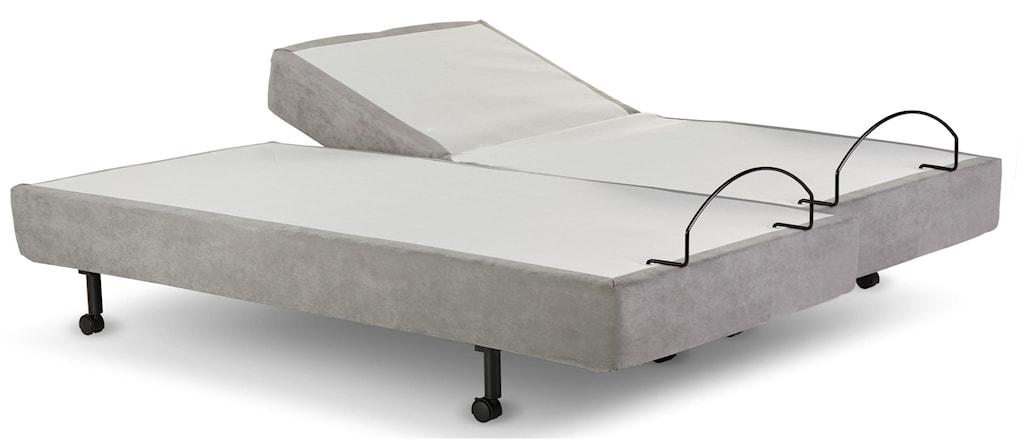 Leggett Platt Adjustable C110 Full Grey Adjustable Base Sadler S