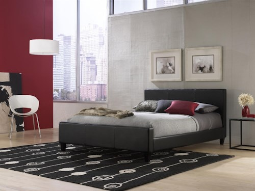 Fashion Bed Group Euro Queen Bed