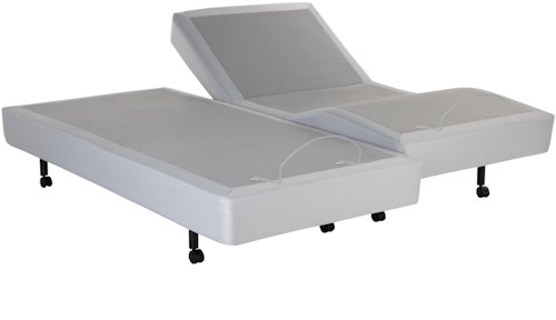 Fashion Bed Group Signature Split King Signature Adjustable Base with Ultra-Quiet Motor and Wireless Remote