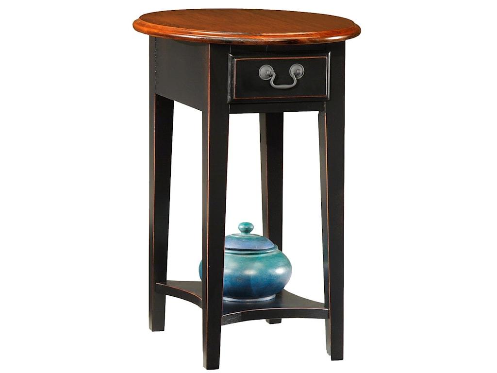 Leick Furniture Favorite FindsOval Side Table