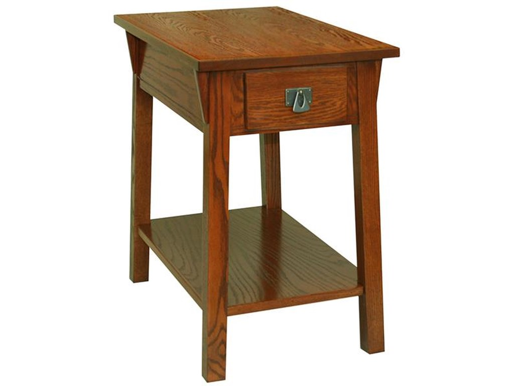 Leick Furniture Favorite FindsMission Chairside Table
