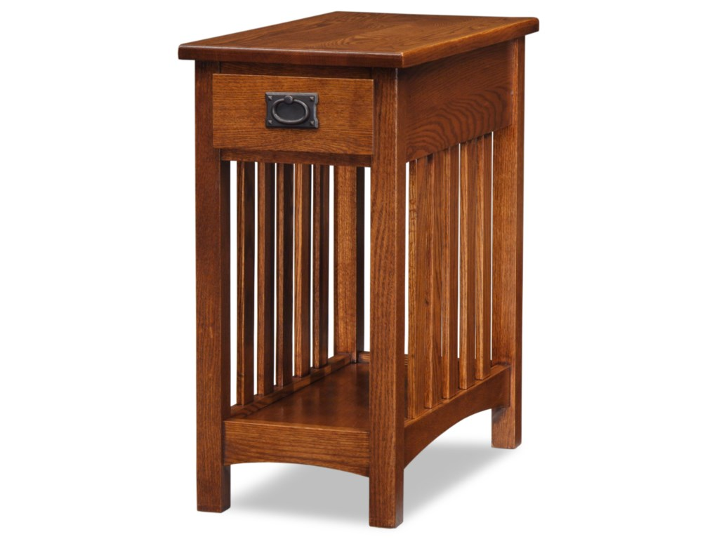 Leick Furniture Mission ImpeccableMission End Table